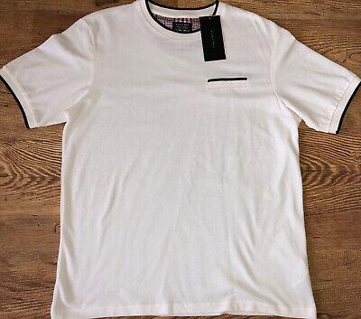 Zara Man T-Shirt White Size XL