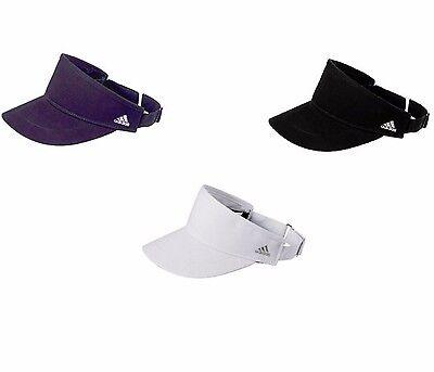 Cotton Sports Visor (ADIDAS GOLF VISOR, UNISEX, COTTON TWILL HAT, ADJUSTABLE, PERFORMANCE, SPORTS)