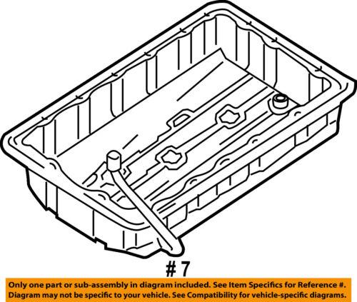 Kia Oem 05 06 Sorento 3 5l V6 Transmission Tranny Oil Pan 452804c000