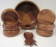 Monkey Pod Wooden Bowls