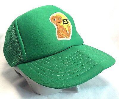 Universal Studios E.T. The Extra-Terrestrial Green Trucker Hat Snapback Large