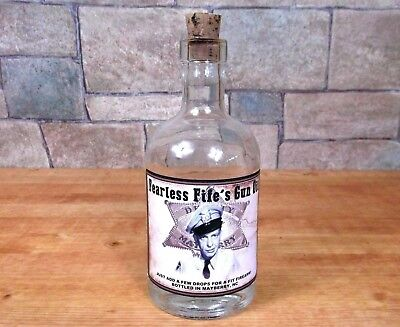FEARLESS FIFE GUN OIL The Andy Griffith Show BOTTLE PROP Barney Fife Don Knotts
