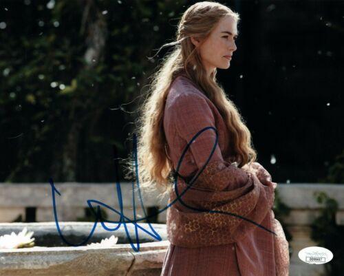 Lena Headey Game of Thrones Autographed Signed 8x10 Photo JSA COA EF726