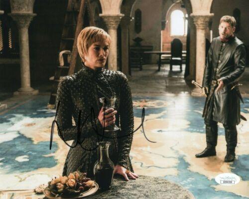 Lena Headey Game of Thrones Autographed Signed 8x10 Photo JSA COA EF717