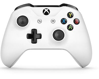 Official Microsoft Xbox One S Wireless Controller   White Brand New