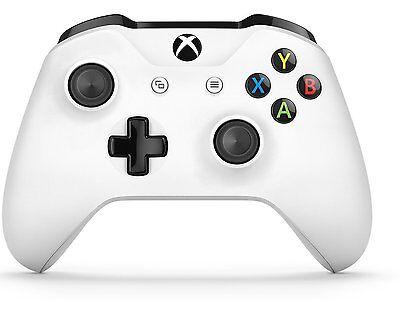 Xbox One Wireless Controller   White  Microsoft Xbox    Free Shipping