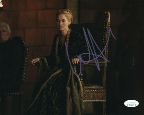 Lena Headey Game of Thrones Autographed Signed 8x10 Photo JSA COA EF725