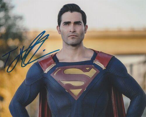 Tyler Hoechlin Supergirl Autographed Signed 8x10 Photo COA #MK2