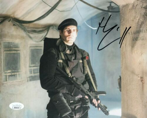 Henry Cavill Man From Uncle Autographed Signed 8x10 Photo COA EF171
