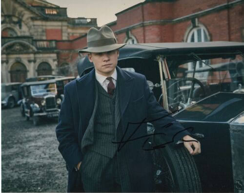 Finn Cole Peaky Blinders Autographed Signed 8x10 Photo COA 2019-5