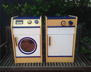 Wooden Pretend Play washing Machine and Dishwasher - Cubby Box Hill South Whitehorse Area Preview
