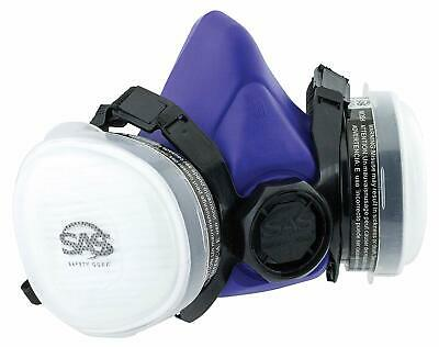 Sas Safety 8661-93 Bandit Half Mask Respirator Large