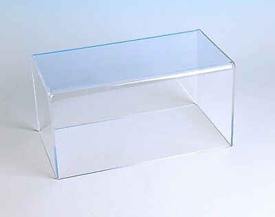 Rectangular Box Cover Acrylic Box Cases Long Collectible Display Cases
