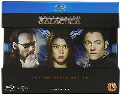 Battlestar Galactica Complete Series Blu Ray Box Set New Free Ship Razor