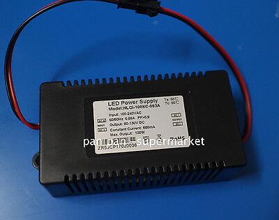 100W  LED Driver Power supply AC100V~240V 600MA Used for plant aquarium lights