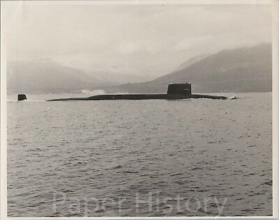 USS Francis Scott Key SSBN-657 Submarine Original US Navy 8x10 Photo B J Adkins