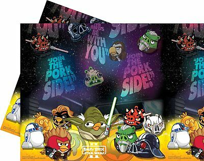 Star Wars / Angry Birds Party Tischdecke Kindergeburtstag Set (Star Wars Party Set)