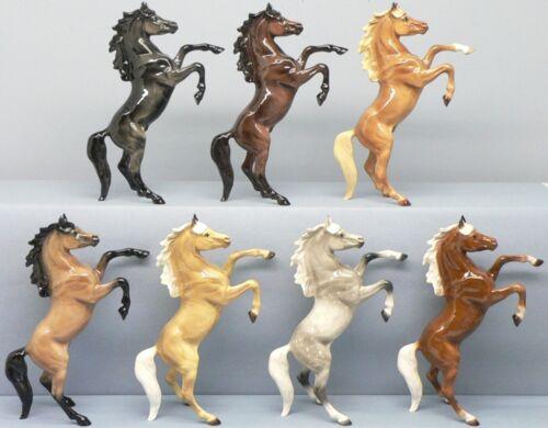 Hagen Renaker DW Rearing Fez Arabian Horse Dapple Gray  14 Left