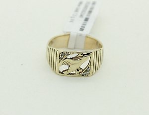 9ct Gold Men's Diamond Ring Mandurah Mandurah Area Preview