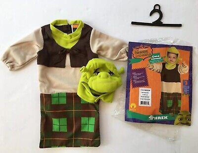 NWT Shrek Newborn Bunting Baby Ogre Costume 0-9 Months](Shrek Baby Costume)