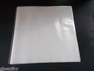 New-Plastic-12-LP-Vinyl-Outer-Record-Sleeves-4mil-Album-Covers-High-Density-Bag