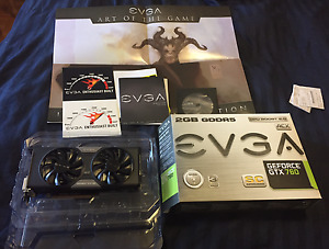 EVGA GTX 760 2GB SuperClocked ACX - with backplate