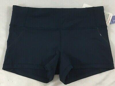 Lululemon Women Quick Pace Short JADD Dark Teal Shorts LUXTREME Size 10