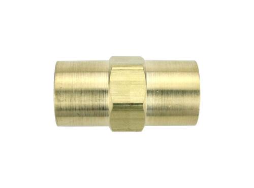 "Welding Argon or Shield Gas Hose Coupler 5/8""-18 Female x 5/8""-18 Female - 11N17"