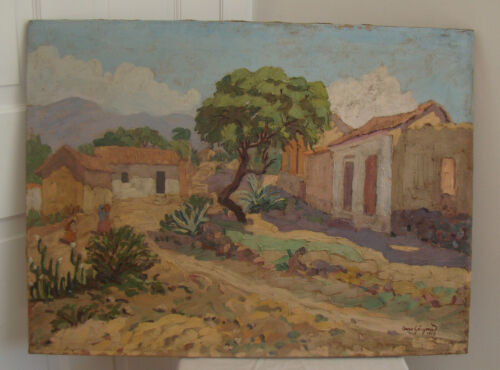 Victor Arze GÓNGORA b1916 Bolivia / Argentina Original Latin American PLEIN AIR