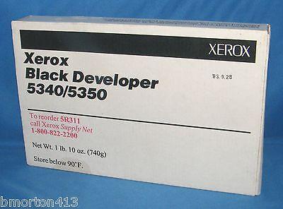 Xerox Black Developer (5340/5350 5r311) Sealed In Box