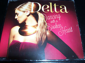 Delta Goodrem Dancing With A Broken Heart Australian CD Single