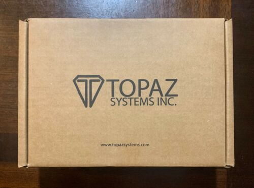 New Topaz SigLite LCD 1X5 T-LBK460-HSX-R - signature terminal - USB