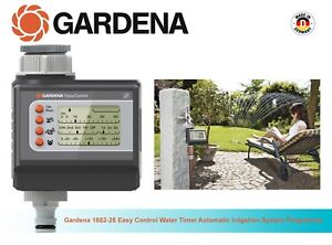 Gardena 1882-28 Easy Control Water Timer Automatic Irrigation System Programme