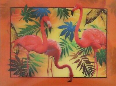 Flamingo  - 3D Lenticular Poster --12x16 Print