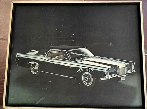 Lincoln, 1969, Mark III, Continental,Picture, Portrait, Dealership, Showroom, Ad