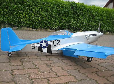 RC EP GP Balsa Lasercut P51D Mustang Jagdflugzeug KIT Holzbaukasten P51