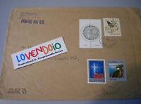 1991 Bella Busta Viaggiata Con 3 Vaolri + 1 Dollaro Kiwi Francobollo Rotondo -  - ebay.it