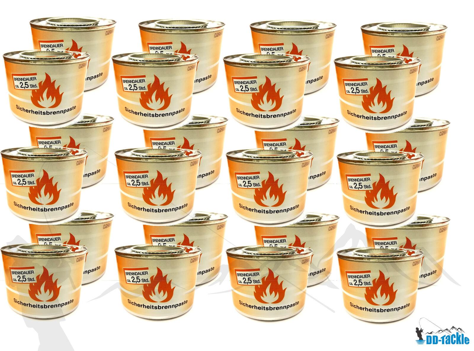 10 x Brennpaste für Tischräucherofen Speisenwärmer Buffet Sicherheitsbrennpaste