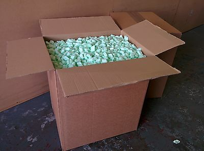 5 Cubic Feet Of FLOPAK Loose fill Packing Peanuts Biodegradable