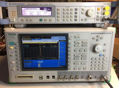 Anritsu MT8820A Radio Communication Analyzer 30MHz - 2.7GHz with 01 02 11 12