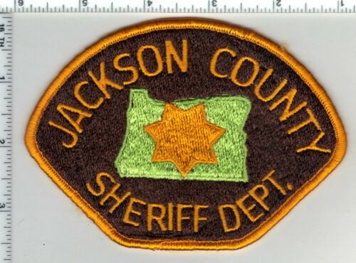 Jackson County Sheriff (Oregon) 1st Issue Shoulder Patch