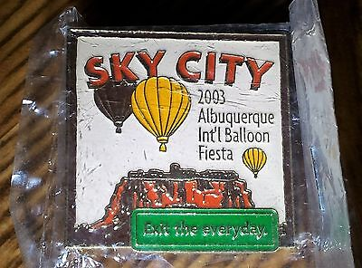 SKY CITY BALLOON PIN( Qty. of TWO )