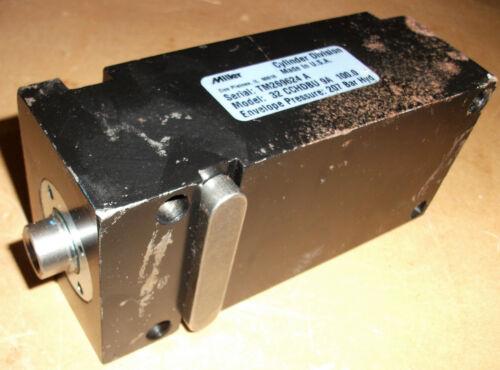 MILLER FLUID POWER 32 CCHDBU 9A 100.0 COMPACT HYDRAULIC CYLINDER