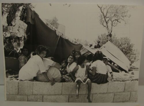 Jewish Judaica Israel Israeli BENE ISRAEL India Jews Press Photo 1964 Protest