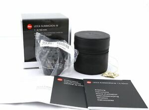 Leica Summicron M 50mm brand New 6bit 11826