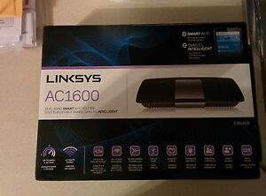 Linksys AC1600 dual band smart WiFi router