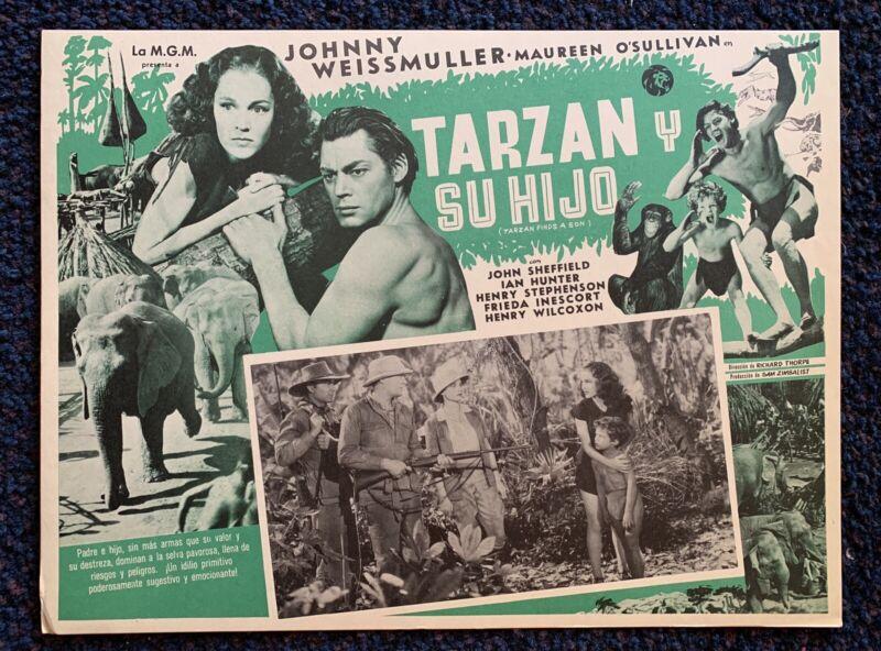 TARZAN FINDS A SON Johnny Sheffield Maureen O