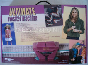 BOND ULTIMATE SWEATER KNITTING MACHINE BRAND NEW IN BOX
