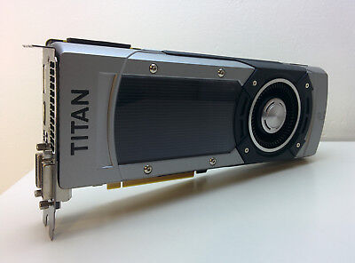 ASUS GeForce GTX Titan Black Edition 6GB PCI Express Graphics Card