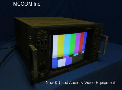 "Sony BVM-1201 12"" Trinitron Color Monitor w/ RGB Cable"
